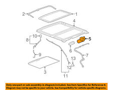 cadillac gm oem 06 08 dts sunroof motor 15139684 ebay rh ebay com 2010 F150 Tailgate Diagram gm sunroof repair kit