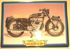 ARIEL KH HUNTER TWIN VINTAGE CLASSIC MOTORCYCLE BIKE 1950'S  PICTURE PRINT 1954