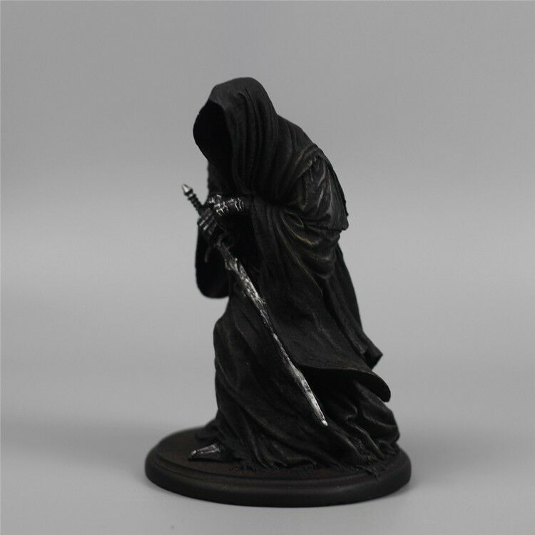 The Lord of The Rings Nazgul Ringwraiths Dark Dark Dark Rider 6  Figure Statue Hobbit Toy 3c8358