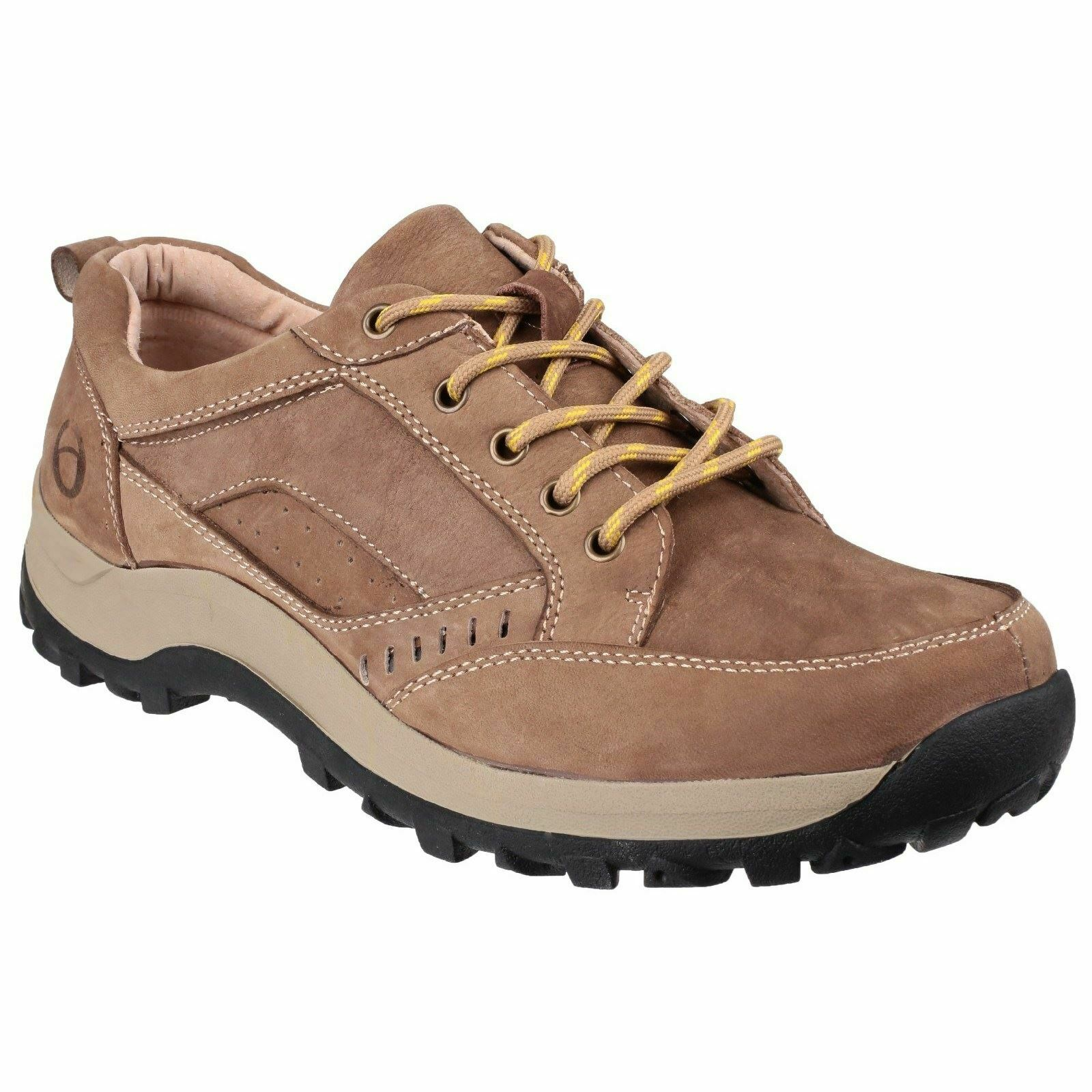 Cotswold Lace Mens shoes Nailsworth Lace Up shoes Tan Non Safety