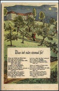 Kuenstlerkarte-034-Das-ist-nun-einmal-so-034-um-1920-30-Musikverlag-Wilke-Berlin