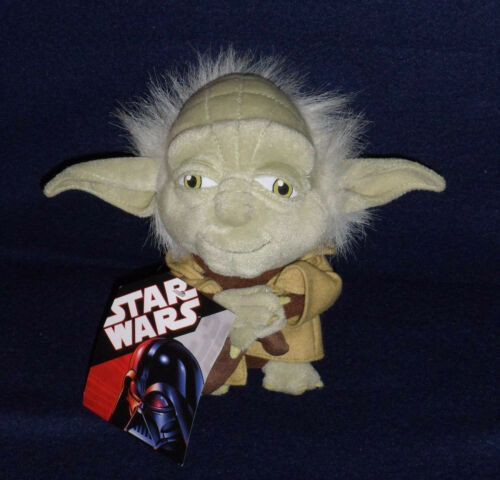 "Star Wars YODA Super Deformed 7"" Plush Toy Figure New w Tags Comic Images"