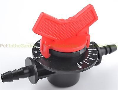 Irrigation Tube Water Flow Control Switch Dial for Venturi Fertilizer Device