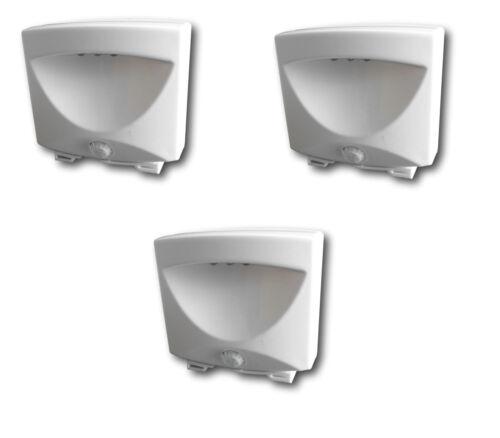 3er Set Treppenlicht Nachtlicht mit Sensor LED Lampe Leuchte Treppen Keller etc.