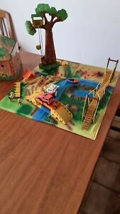 Leoventuras Diorama Plastico 1993 Kinder Sorpresa Leoni