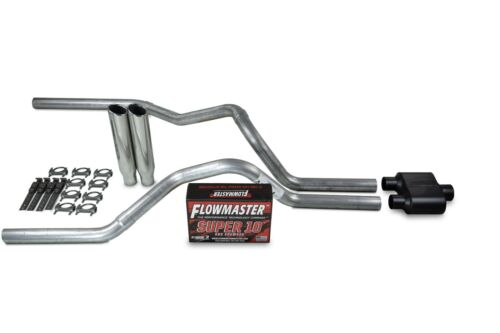 "Dodge Ram 1500 94-03 2.5/"" Dual Exhaust Kits Flowmaster Super 10 Clamp on Tip"
