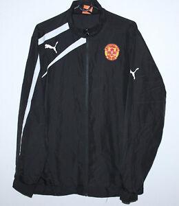 Motherwell-Scotland-training-jacket-Puma-Size-S
