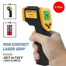 4 Packs Non Contact Digital Gun Laser Infrared Thermometer 50 380
