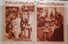 Vittorio Emanuele III Ezio Garibaldi Carnera Umberto Savoia a Napoli Rumba Ciano