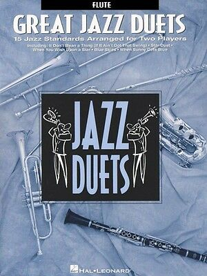 Wind & Woodwinds Great Jazz Duets Flute Jazz Duet New 000841016 Making Things Convenient For Customers