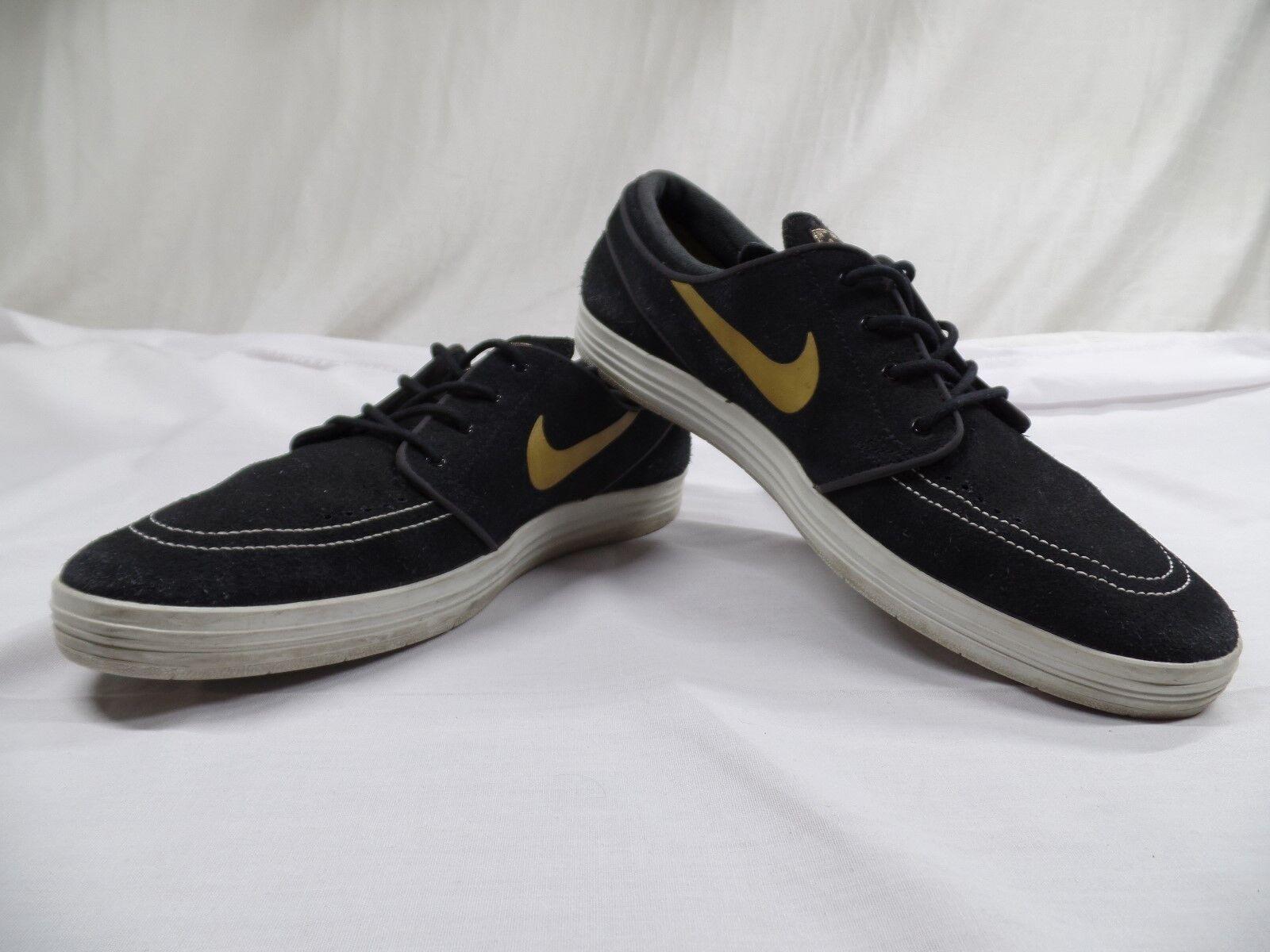 Nike sb lunar stefan janoski schwarze schuhe 654857-071 - sz-11.5)
