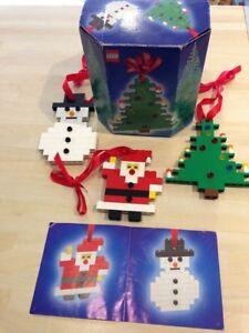 Lego Set 4759. Décoration de Noël à partir de 2004. Très bon état.   Ensemble rare.