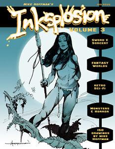 INKSPLOSION-3-Fantasy-amp-Sci-Fi-Ink-Art-by-Mike-Hoffman