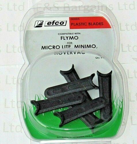 Hovervac 00005 EFCO Plastique Lames Flymo Micro Lite Minimo