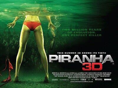 PIRANHA 3D movie poster print - 12 x 16 inches - Horror
