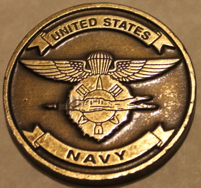 Mobile Unit Two Explosive Ordnance Disposal EOD Diver Navy Challenge Coin / 2
