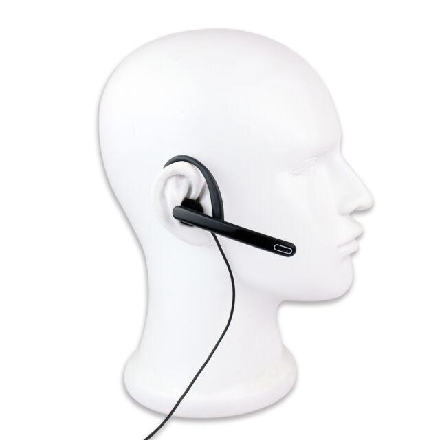 3.5mm 1-Pin Ear Bar Earpiece Mic PTT Headset for YAESU VERTEX VX-2R VX-3R FT-60R