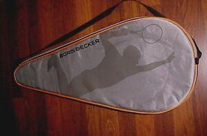 Boris Becker Tennis Racquet Gray Headcover