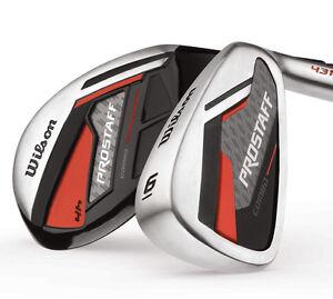 Wilson-ProStaff-Combo-Herren-Golf-Komplettset-Eisen-6-SW-Hybrid-4-und-5