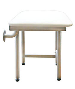 Image Is Loading PRAXIS Bathtub Shower Bench Seat With 4 Legs