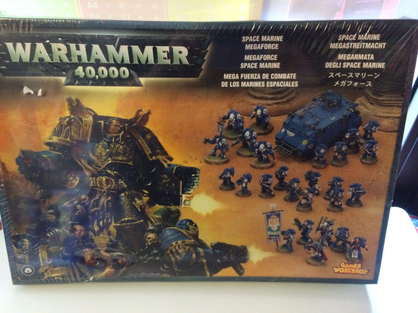 Warhammer 40.000  space Marine Megaforce, Nuovo Sigillato