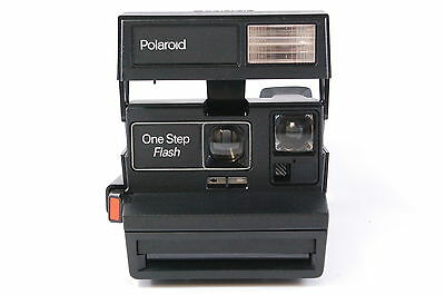 Polaroid One Step Flash instant camera for 600 film tested Ref.124167dlmntn