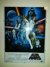 STAR WARS RETRO POSTER A3 FRAMED PICTURE...260GSM