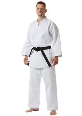 Tokaido Karate Gi Black Kata Master WKF Canvas Uniform Kata Gi Heavy