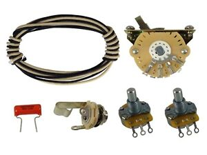 telecaster tele premium 4 way switch wiring kit cts, oak grigsby
