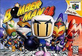 Bomberman-64-Nintendo-64-N64-Video-Game-Cart-Spaceman-Retro-OEM-Super-Fun-Rare