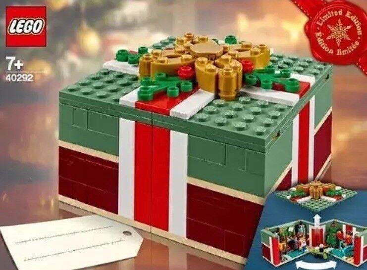 Lego 40292 Nouveau Cadeau de Noël    Limited Edition  LIVRAISON RAPIDE | Exceptionnelle