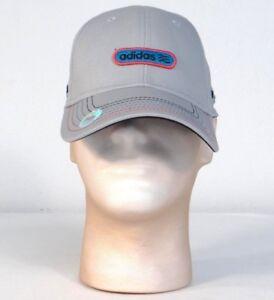 b97942db27310 Adidas Golf Adjustable Gray Cap Hat UV Protection 50+ Men s One Size ...