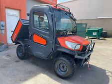 Kubota Rtv X1100c Hydraulic Dump Acheat Pto Brand New Winch Radio