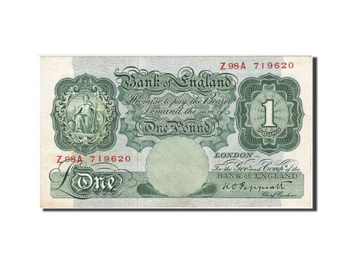 #259753 Great Britain, 1 Pound, 1948, KM #369a, AU5558, Z98A 719620