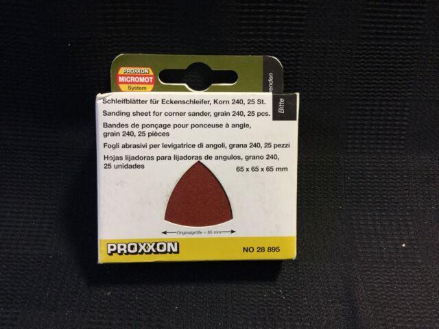 Proxxon Schleifblätter für OZI//E 28895 25 Stück Korn 240