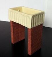 Belfast Sink Dolls House Miniatures, Kitchen Furniture, Washing Up Pots & Pans