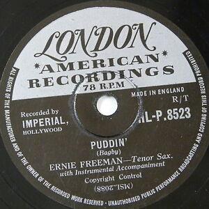 78-record-in-frame-PUDDIN-RAUNCHY-eddie-freeman