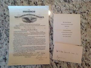 1926 Army Infantry named Promotion document invitation Military