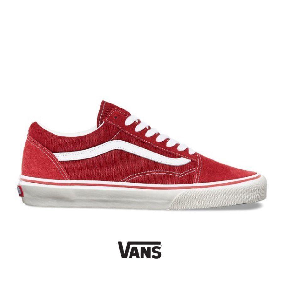 Vans Old Skool Sneakers Shoes Brick Red VN000DVOKDIC SZ4-13 Limited