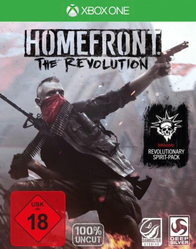 1 von 1 - *Homefront: The Revolution - Day One Edition*XBOX One*Neu&OVP*