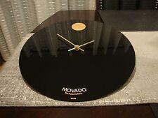 14'' Movado Dealer Showroom Wall Clock ,display original
