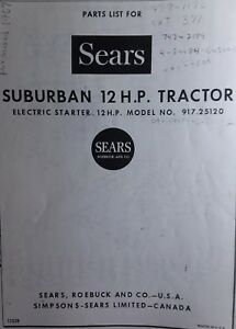 Sears SS-12 Suburban 1967 SUPER 12 Lawn Garden Tractor Parts Manual on sears suburban 12 engine swap, sears garden tractor attachments, craftsman lt1000 parts diagram, sears suburban 12 tractor, sears suburban garden tractor 16 hp, sears suburban 12 carburetor, sears suburban 12 headlights, sears suburban 12 parts,