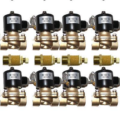 "8-3/8"" Orifice 1/2""NPT Brass Air Fast 150p Valves w/4 Adjustable slowdown valves"