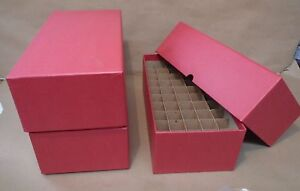 Penny Cent Round or Square Coin Tube or Roll Storage Box w//Dividers Holds 50