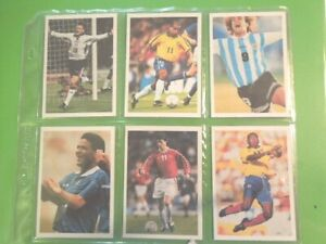 1998-Brooke-Bond-Tea-INTERNATIONAL-SOCCER-STARS-football-Trading-set-20-cards