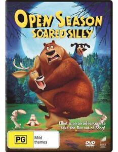 Open-Season-Scared-Silly-DVD-NEW-Region-4-Australia