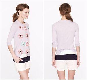 """Women's Clothing Shorts Conscientious J Crew 4"""" Chinos Corto Talla 0 Color De Contraste Nuevo Marina Blanca Shorts"""