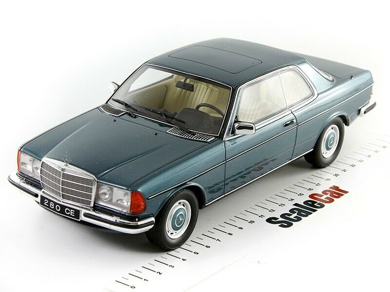 Mercedes-Benz 280 CE C123 Coupe Green Metallic 1977 Otto Mobile OT627