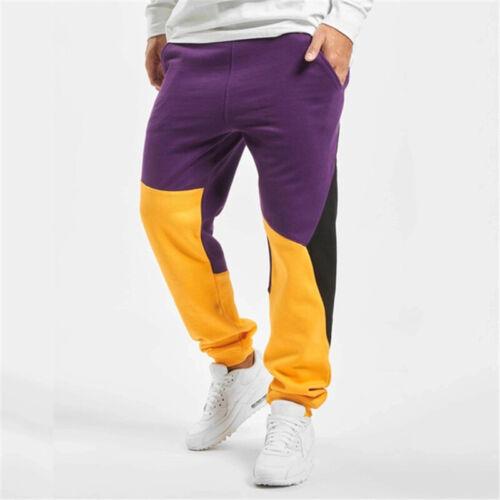 Men Casual Hip Hop Pants Fitness Workout Joggers Sweatpants Sport Long Trousers