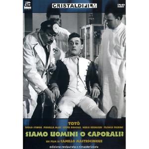 Toto-039-Siamo-Uomini-O-Caporali-Dvd-Nuovo